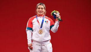 Aremi Fuentes obtuvo el bronce en Tokio