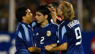 Roberto Fabián Ayala, actual integrante del cuerpo técnico de la selección argentina,