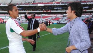 Chicharito Hernández lanzó reto en Tik Tok a Checo Pérez