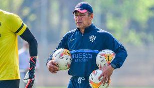 Nacho Ambriz comparó mal inicio del Huesca con el que vivió en León