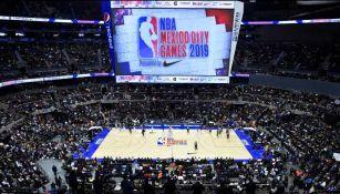 La Ciudad de México albergando la NBA