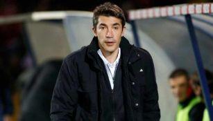 Bruno Lage en el banquillo durante un partido