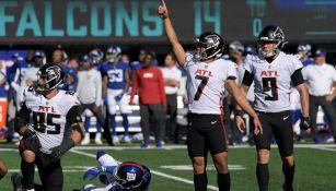 La patada del triunfo para los Falcons ante Giants
