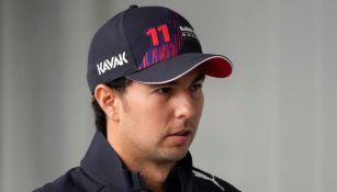 Checo Pérez en el GP de Rusia