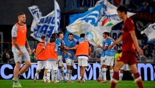 Serie A: Derby della Capitale se pintó de celeste con triunfo de la Lazio