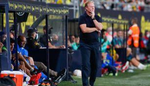 Ronald Koeman durante partido contra Cádiz