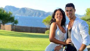 Cristiano Ronaldo junto a Georgina Rodríguez
