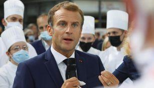 """Emmanuel Macron: Presidente de Francia recibió un """"huevazo"""" en feria gastronómica"""