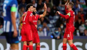 Tecatito Corona: Liverpool goleó al Porto con dobletes de Mohamed Salah y Roberto Firmino