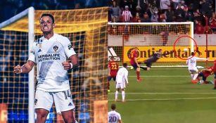 Chicharito Hernández anotó en la derrota del Galaxy