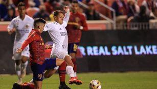Javier 'Chicharito' Hernández en acción con el LA Galaxy