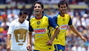 Ángel Reyna como jugador del América