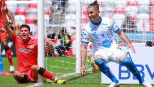 Jonathan Dos Santos tras anotar el gol del empate