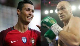 Tyson Fury mandó mensaje a Cristiano Ronaldo: 'Manchester es mío'