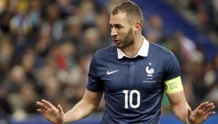 Karim Benzema: En duda su continuidad en la selección de Francia por tema judicial