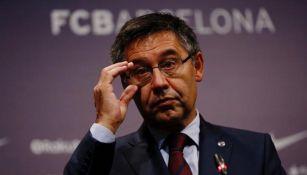 Expresidente del Barcelona: 'No tenía conocimiento del contenido de las cuentas de redes sociales'