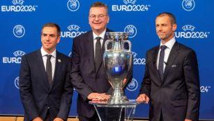 Eurocopa: UEFA presentó en Berlín el logo del torneo para su edición 2024