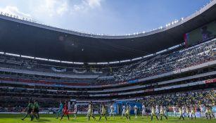 Estadio Azteca previo al Clásico Joven