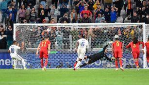 Anotación de Kylian Mbappé con Francia en la Semifinal de la Nations League