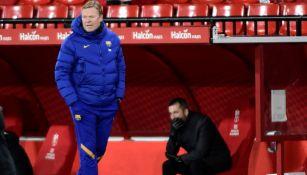 Ronald Koeman como dirigente del Barcelona