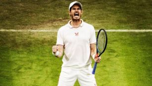 Andy Murray celebra una jugada