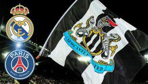Newcastle podría llevarse a jugadores del PSG y el Real Madrid