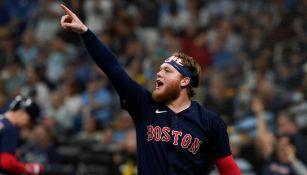 Alex Verdugo: Conectó jonrón y Boston igualó Serie Divisional al vencer a Tampa Bay