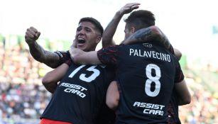 Jugadores de River Plate en festejo