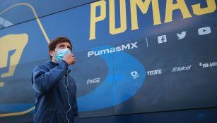 Pumas: Carlos Gutiérrez podría volver para el juego ante Juárez FC