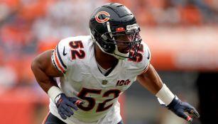 NFL: Raiders recibirá a Bears y a un viejo conocido