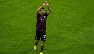Chucky Lozano al final del México ante Honduras