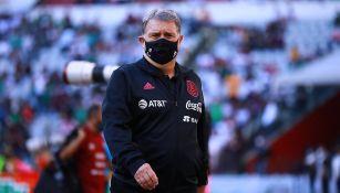 El Tata Martino en el México vs Honduras