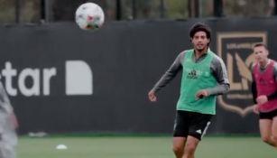 Carlos Vela: El Bombardero ya entrena al parejo de sus compañeros del LAFC