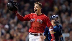 Red Sox en festejo