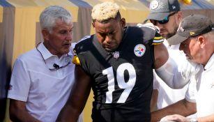 Steelers: JuJu Smith-Schuster perderá el resto de la temporada por lesión