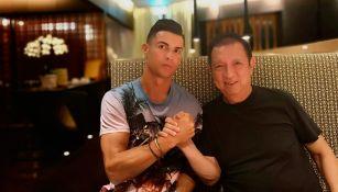Cristiano Ronaldo se unió con dueño del Valencia para lanzar plataforma de futbol