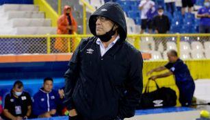 Hugo Pérez, DT de la selección de El Salvador