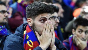 Aficionado del Barça, preocupados