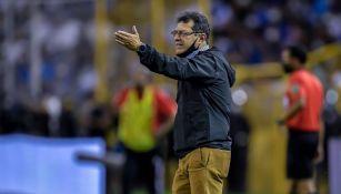 Pérez durante el partido