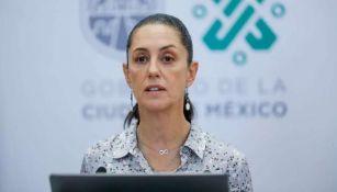 Claudia Sheinbaum en conferencia de prensa