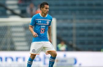 Rafael Baca durante un partido de Cruz Azul
