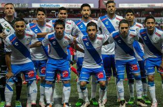 Formación del equipo poblano en su última visita al Estadio de Xolos de Tijuana