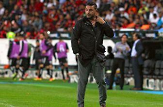 Mohamed durante un partido con Rayados