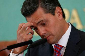 Enrique Peña Nieto, avergonzado en una conferencia