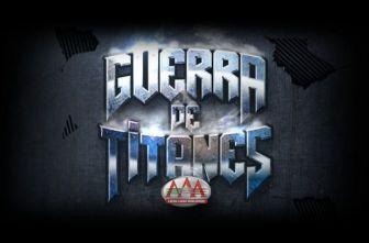 El logo de Guerra de Titanes de la Triple A