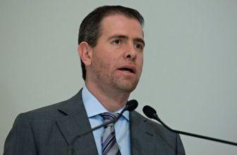 Alfredo Castillo, titular de la Conade, en conferencia de prensa