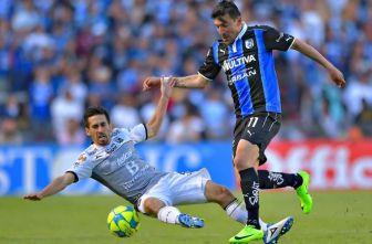 Edgar Benitez, en el encuentro contra León