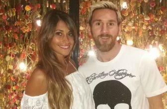 Lionel Messi y su futura esposa, Antonella Roccuzzo