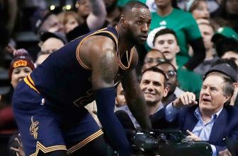 LeBron James tras el choque con Bill Belichick