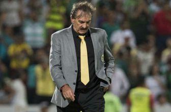 La Volpe después de la derrota contra Santos